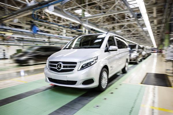 Dank Absatzerfolg von Vito und V-Klasse: Mercedes-Benz Vans baut Kapazitäten im Leitwerk Vitoria deutlich aus