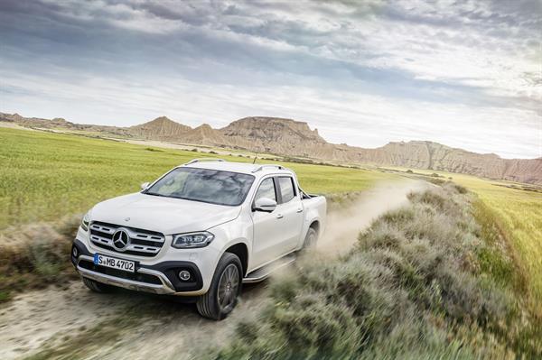 Pickup trifft Lifestyle – Die Mercedes-Benz X-Klasse