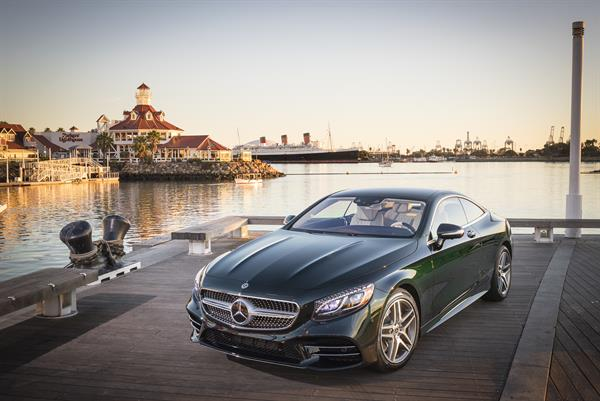 Mercedes-Benz S560 4MATIC Coupé, designo Exclusive nappa leather porcelain-espresso brown