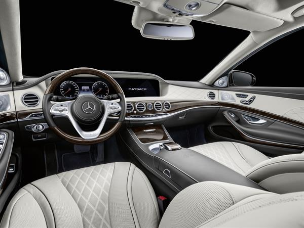 Neues Interieurdesign beim Mercedes-Maybach Pullman