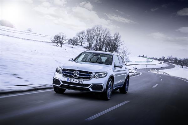Der Mercedes-Benz GLC F-CELL
