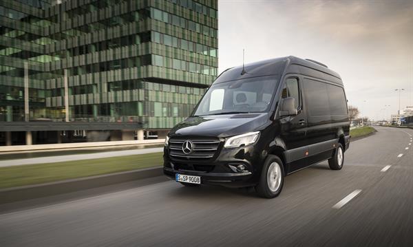 Mercedes-Benz Vans: Der neue Sprinter
