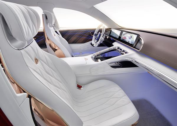 Weltpremiere Vision Mercedes-Maybach Ultimate Luxury