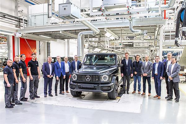 Produktionsstart der neuen Mercedes-Benz G-Klasse