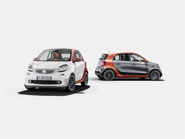 Der neue smart fortwo & forfour 2014