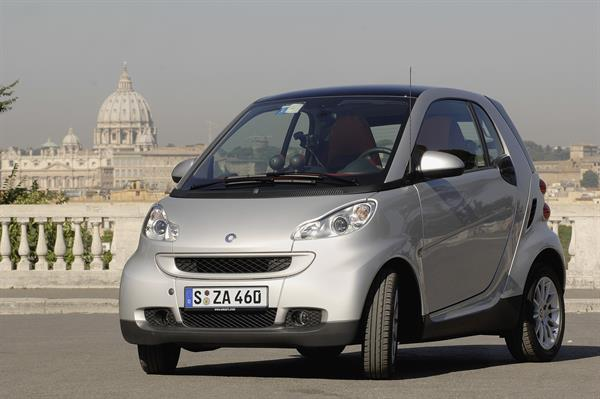 10 Jahre smart: smart fortwo in Rom