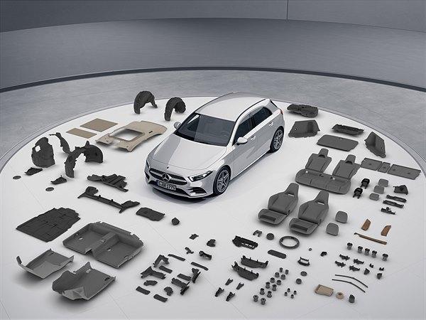Umweltzertifikat für die neue Mercedes-Benz A-Klasse.