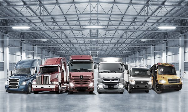 Daimler Trucks Family Shot 2018