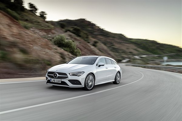 Der neue Mercedes-Benz CLA Shooting Brake