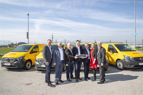 DHL-Partner BSS Logistik ab sofort elektrisch unterwegs