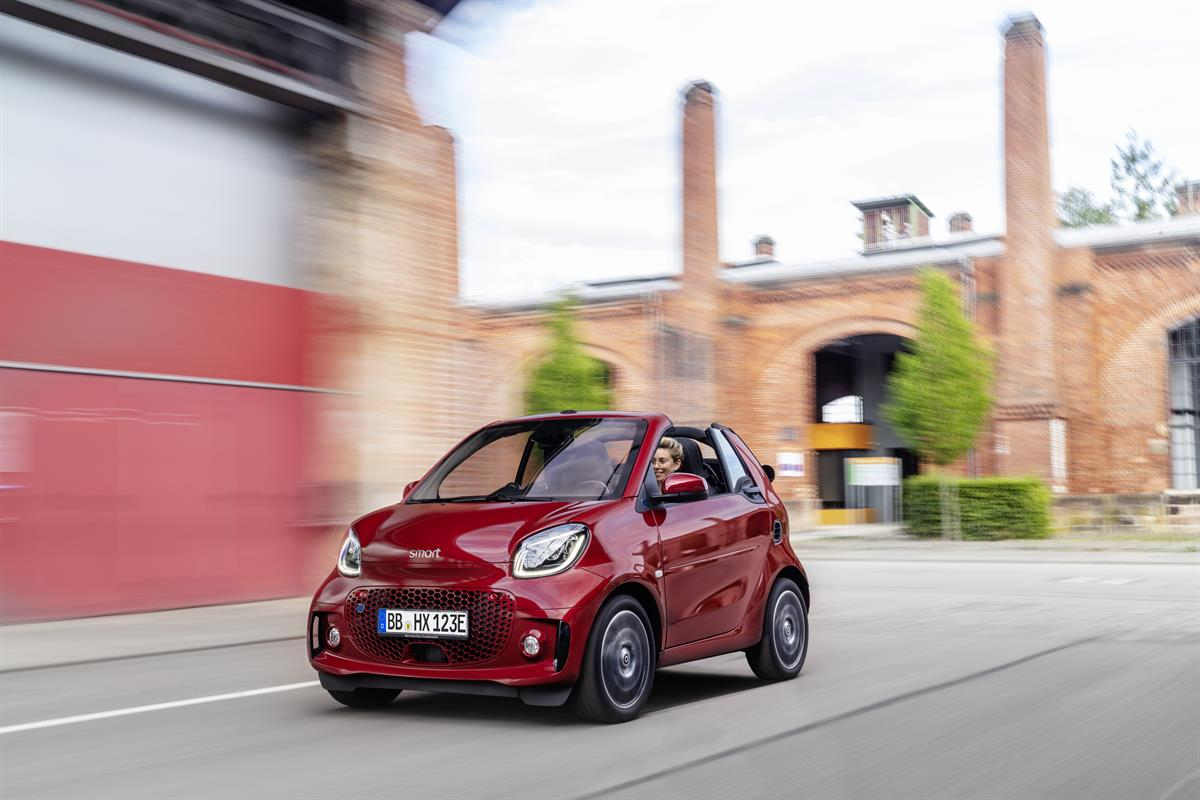 Refresh: smart auf der IAA 2019